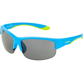 Alpina Flexxy HR Glasses Youth blue matt-lime/black